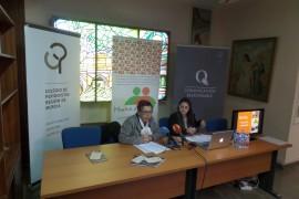 """Murcia Acoge presenta su proyecto """"Medio de comunicación agente de integración social"""" en la sede del COP"""